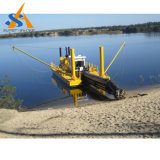 Sand Minging Absaugung-Bagger mit Bagger-Pumpe abbauen