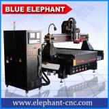 Atc 1530 Tipo de cambio de herramienta lineal Auto giratorio 4 EJES CNC Router de madera MDF
