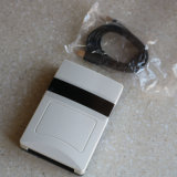 Programa de lectura del interfaz de la etiqueta RJ45 de la tarjeta de la frecuencia ultraelevada de la mesa RFID del USB