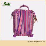 Mini saco de escola feito sob encomenda coreano das mulheres da trouxa