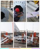 borne de aço galvanizado da lâmpada de 12m zinco a quente resistente à corrosão Polygonal