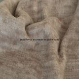 陽イオンの印刷の効果のマイクロ羊毛、ジャケットファブリック(コーヒー)