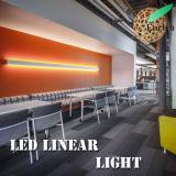 Doppio tipo fissato al muro chiaro lineare laterale di illuminazione LED