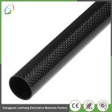 Grande tubo della fibra del carbonio di rinforzo 3K del diametro