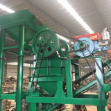 Maalmachine de op wielen van de Kaak met het Trillende Scherm, de Gouden Machine van het Proces van het Erts