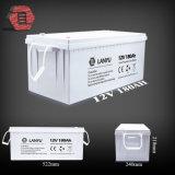 Batterie profonde de gel de cycle de la batterie 12V 180ah de gel 10 ans de batterie de longue vie