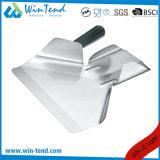 Pelle à épuisette commerciale d'entonnoir de pommes frites d'acier inoxydable avec le traitement détachable en plastique simple
