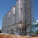 Niedriger Preis-gewellter galvanisierter Metallstahlkorn-Silo