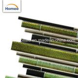 Активная и красивых цветов стеклянной мозаики плитки Дубаи мозаики плитки