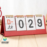 Творческие бумага печать настольный календарь / подарок для продвижения