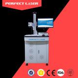 Машина маркировки печатание лазера волокна бирки уха для ювелирных изделий