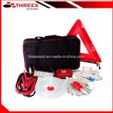 Kit de voiture de la qualité de la sécurité avec triangle de présignalisation (ET15022)