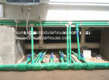El edificio de marco de acero/modular galvanizada/prefabricado/prefabricaron la casa