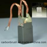 Escova de carbono personalizada LFC554 do projeto para o motor do gerador da central energética