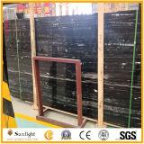 Черный полированный мраморный камень для строительства/пол/ванная комната и кухня/стены/строительных материалов