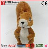 Jouet mou bon marché d'écureuil de peluche de peluche de jouets pour des gosses