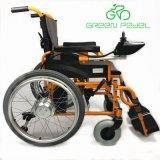 Greenpedel 2018 24V 250W Dobrável Eléctrico de portadoras de cadeira de rodas do Joystick