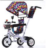3개의 바퀴 공기 바퀴 아이 강요 세발자전거 아이 세발자전거