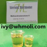 Pó esteróide Dianabol Methandrostenolone 72-63-9 da hormona crua oral