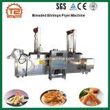 Chauffage électrique continu de la friture Crevettes panées Fryer machine La machine