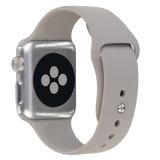 Haute qualité de regarder la sangle de la bande en caoutchouc de silicone pour Apple Watch
