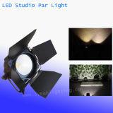 Alta potencia de 200 vatios de mazorca calurosa Blanco / LED blanco frío Studio Luz PAR