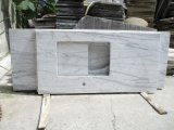 Carrara 백색 회색 베이지색 조립식 화강암 또는 대리석 또는 합판 제품 또는 목욕탕 또는 부엌 /Bathroom 자연적인 싱크대 또는 허영 상단 또는 탁상용