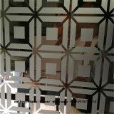 Panneau métalliques décoratifs feuille de revêtement en acier inoxydable pour le système mural