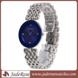 Любителей роскоши пару часов, водонепроницаемый женщин Quartz Wristwatch из нержавеющей стали