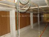 家禽の家の温室のためのぬれた壁の蒸気化冷却のパッド