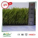 정원 훈장 모래 언덕 Greening를 위한 45mm 합성 물질 잔디 인공적인 뗏장