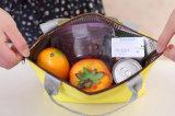 Sac de déjeuner d'emballage isolé par pique-nique portatif imperméable à l'eau neuf de cadre de mémoire de nourriture d'isolation thermique d'hommes de femmes de gosse de mode du sac 2017 de déjeuner