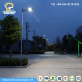 Preços de luzes de rua solares inteligentes do diodo emissor de luz 80W