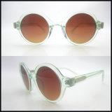 Populier die de Met de hand gemaakte Zonnebril van het Frame van Rround van de Vrouw met UV400 verkopen