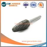 Rotativa de carburo de tungsteno las rebabas de la herramienta de pulido