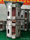 Печь индукции лаборатории электрическая опрокидывая плавя для утюга серебра золота стального (GW-500KG)