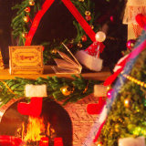 Le bricolage cadeau de Noël Mini jouet en bois