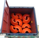 Haltbare Qualitäts-aufblasbarer sich hin- und herbewegender Ponton-Plastikgleitbetrieb