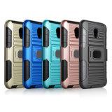 Nova armadura de plástico resistente de alta qualidade caso PC TPU 3 em 1 Suporte para iPhone X caso