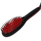 2018 дешево быстро Anti-Scald высшего качества ЖК-прозрачное отображение электрический керамическая щетка для выпрямления волос (Q20)