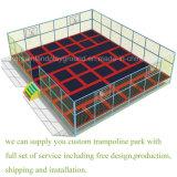 팬케익 판매! ! ! 상업적인 까마득히 높은 점프 침대 또는 Trampoline 공원