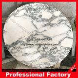 Superfície lisa mesa lateral em mármore