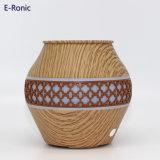 Diffuseur ultrasonique d'arome de parfum des mini du regain 7 de cadeau de promotion de couleur graines en bois d'éclairages LED