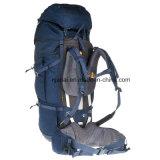 70+10 Mann-Trekking-dunkelblauer Rucksack