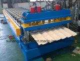 Automatische glasig-glänzende Fliese-Rolle, die Maschine mit Geschwindigkeit 8-12m/Min bildet
