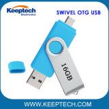 人間の特徴をもつ電話およびパソコンのための完全な記憶容量の16GB OTG USBのフラッシュ駆動機構