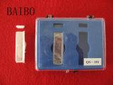 Cubeta de Cuarzo transparente de vidrio de laboratorio
