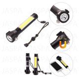 LED de sabugo Martelo de segurança multifuncional lanterna com banco de Potência (61-1S1702 COB)