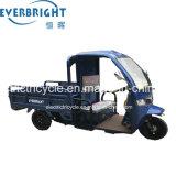 3 Rodas triciclo a carga elétrica, Carga Motociclo com cabina