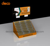 Estante de visualización de papel a dos caras de la cartulina del soporte de visualización para la venta al por menor
